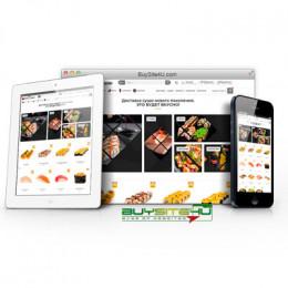 Готовый бизнес - интернет магазин суши, доставка еды