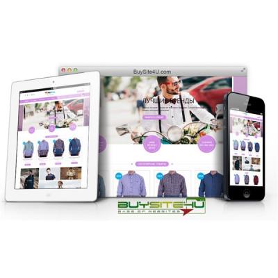Магазин рубашек и одежды