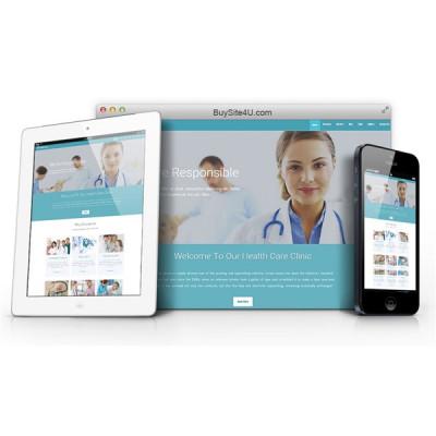 Сайт медицинской клиники